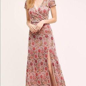 Anthropologie Floral Maxi Dress by Cecilia Prado